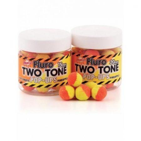 Dynamite Baits - Two Tone Fluoro Pop-Up - Tutti-Frutti / Pineapple - 15 mm