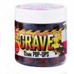 Dynamite Baits - The Crave Freshly Rolled Pop-up Boilies - 15mm - frissen gyúrt pop-up bojli