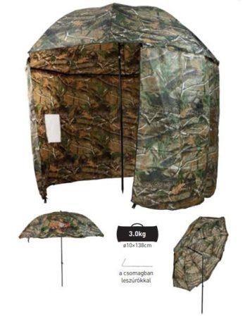 CARP ZOOM - Terepszínű sátras horgászernyő (CZ 5975)