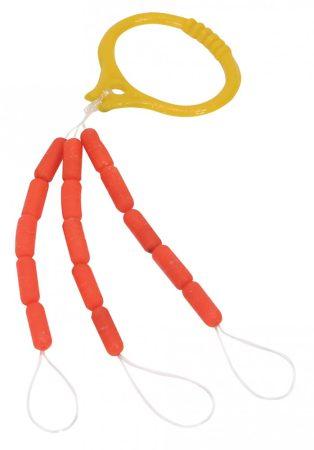 NEVIS Gumiütköző Fluo piros / sárga (342042 / 342043) (8100-021/022)