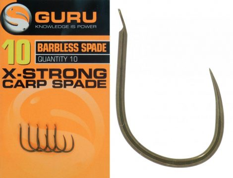 GURU Xtra Strong Carp Spade Hook 10 - horog