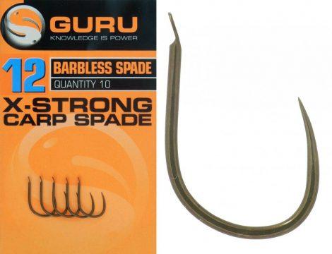 GURU Xtra Strong Carp Spade Hook 12 - horog