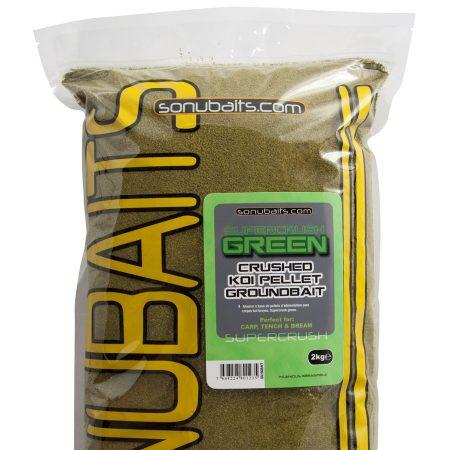 Sonubaits Supercrush Green 2kg etetőanyag (SS/GGBAIT)