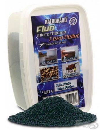 HALDORÁDÓ Fluo Micro Method Feed Pellet - Kék Fúzió