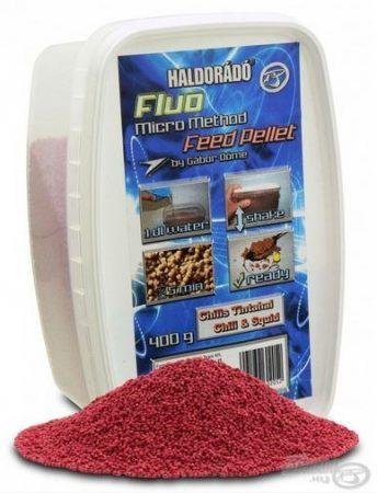 HALDORÁDÓ Fluo Micro Method Feed Pellet - Chilis Tintahal