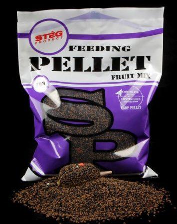 STÉG - Feeding Pellet 2mm Fruit 800gr (SP150218) - etető pellet gyümölcs keverék