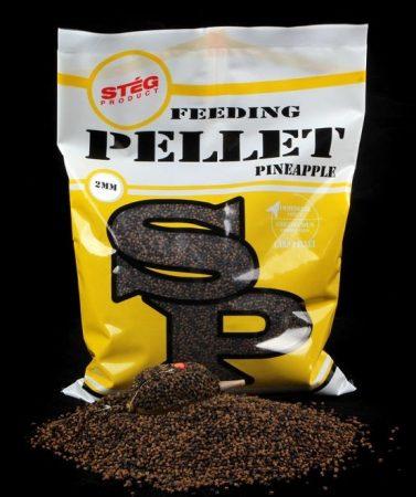 STÉG - Feeding Pellet 2mm Pineapple 800gr (SP150201) - etető pellet ananász