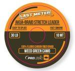PROLOGIC Akua-braid leader 10m 30lbs camo green (54459) - akua fonott előtétzsinór