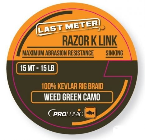 PROLOGIC Razor K Link 15m 15lbs (54470) - fonott előkezsinór