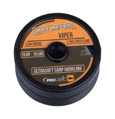 PROLOGIC Viper Ultrasoft 15m 15lbs (49999) - fonott előkezsinór