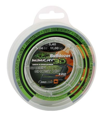 PROLOGIC Mimicry green helo leader 100m 44lbs (57092) - előtétzsinór