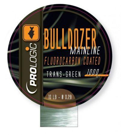 PROLOGIC Bulldozer fluokarbon trans green 1000m 0,37mm (54482) - áttetsző zöld bevonatos monofil zsinór
