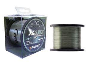 PROLOGIC XLNT HP moss green 1000m 0,43mm (57106) - mohazöld monofil főzsinór