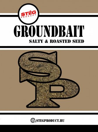 STÉG Product Groundbait Salty & Roasted Seed 1kg (SP260069) - etetőanyag sós pörkölt