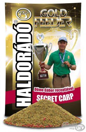 HALDORÁDÓ Gold Feeder - Secret Carp - feeder etetőanyag
