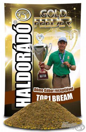 HALDORÁDÓ Gold Feeder - TOP1 Bream - feeder etetőanyag