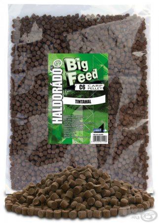 HALDORÁDÓ Big Feed - C6 Pellet - Tintahal 2,5kg - etető pellet