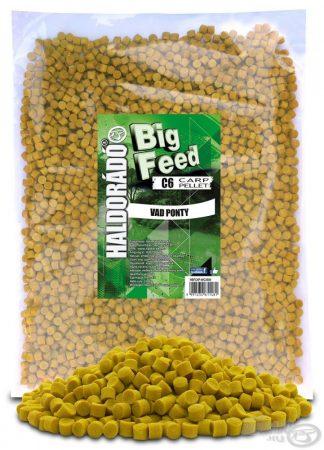 HALDORÁDÓ Big Feed - C6 Pellet - Vad Ponty 2,5kg - etető pellet