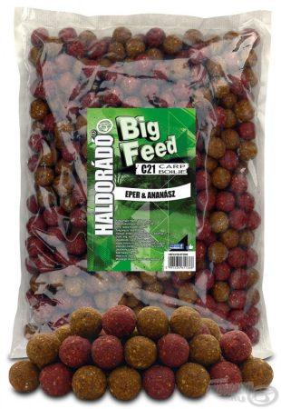 HALDORÁDÓ Big Feed - C21 Boilie - Eper & Ananász 2,5kg - etető pellet