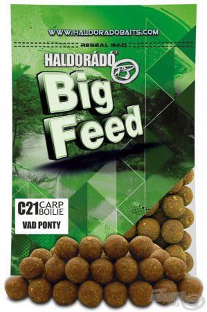 HALDORÁDÓ Big Feed - C21 Boilie - Vad Ponty 800g - etető pellet