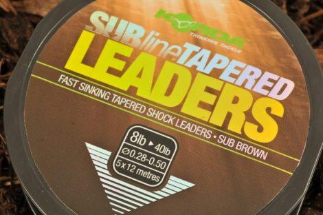 KORDA Subline Tapered Leader dobóelőke 0,30-0,50mm