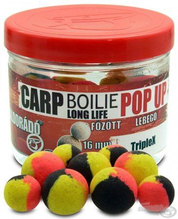 HALDORÁDÓ Pop Up főzött csalizó bojli - TripleX 16-20 mm