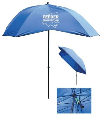 CARP ZOOM - Feeder Competition V-Cast Umbrella (CZ 7329) - V-bevágású ernyő