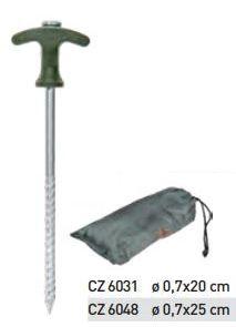 CARP ZOOM - Bivvy Peg set 0,7x25cm (CZ 6048) - sátorvas