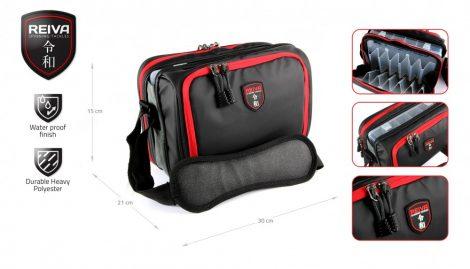 REIVA - Pergető táska 30x21x15cm 1 dobozzal (5220-008)