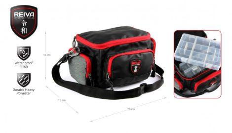 REIVA - Pergető táska 28x19x16cm 3 dobozzal (5220-004)
