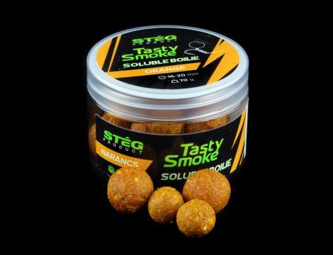 STÉG - Smoke Soluble Boilie 10-12mm Orange 70gr (SP011154)